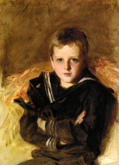 John Singer Sargent Portrait of Caspar Goodrich