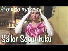 Sailor Scout Cosplay Tutorial - Fuku (aka. bodysuit)