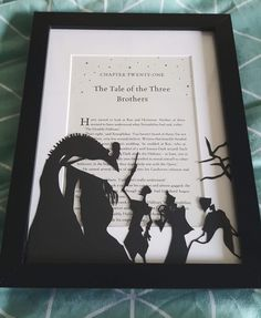 The Tale of the three Brothers #HarryPotter