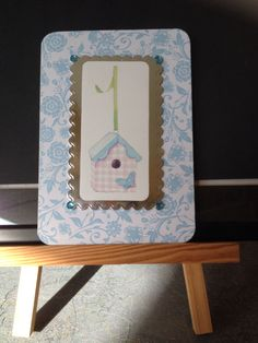Female card made July 2015