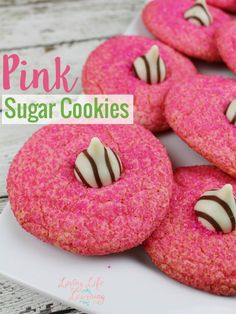 Make your own delicious tasting pink sugar cookies so your kids will think you're the best mom