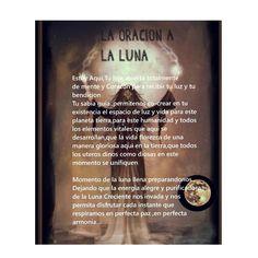 Oracion a la luna Wiccan, Witchcraft, Santa Muerte Prayer, Witch Board, Catholic Prayers, Reiki, Spelling, Tarot, Religion