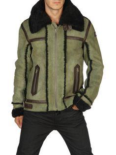 DIESEL - Leather jackets - LENCANG