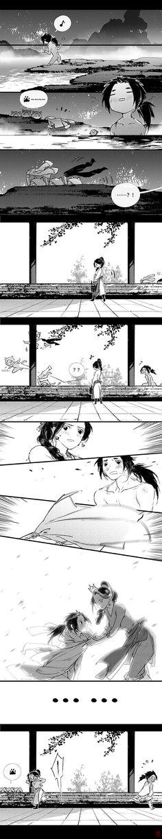 S Stories, Short Stories, Manga Comics, Chinese Art, Traditional Art, Love Art, Manhwa, Sculptures, Fan Art