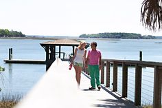 Pink Champagne: Southern Charm: His & Hers. Wearing Lilly Pulitzer at Palmetto Bluff!  #summerinlilly  Photo credits: Jaclyn L