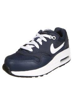 Lage sneakers Nike Sportswear AIR MAX 1 - Sneakers laag - midnight navy/white/black Donkerblauw: \u20ac 69,95 Bij Zalando (op 10-2-15).