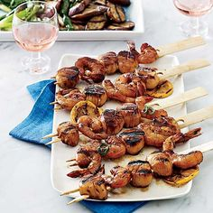 Shrimp and Scallops with Lemony Soy