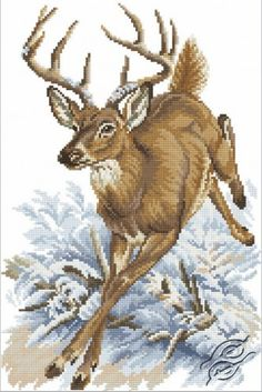 Forest Deer - Cross Stitch Kits by RTO - M331