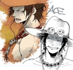 Image about anime in One Piece by OtakuGhoul on We Heart It One Piece Series, One Piece World, One Piece Ace, One Piece Luffy, One Piece Images, One Piece Pictures, One Piece Drawing, One Piece Manga, Portgas Ace