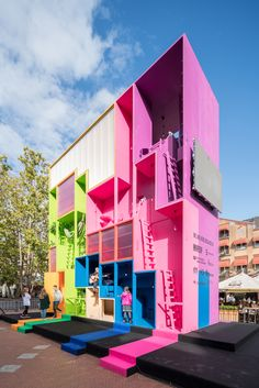 Gallery of MVRDV Designs Multicolored Tetris Hotel for Dutch Design Week 2017 - 4