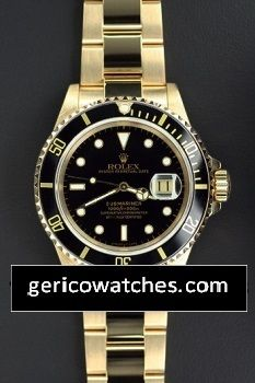 Gerico National/Rolex/Breitling/AudemarsPiguet - Pre-Owned Rolex Submariner Date with Black Dial, $16,600.00 (http://stores.gericowatches.com/pre-owned-rolex-submariner-date-with-black-dial/)