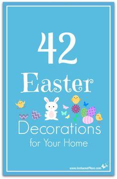 42 Easter Decoration