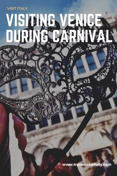 If you want to go to Venice Carnival, make sure you plan ahead and book your accommodations beforehand as the floating city is very crowded during it. Italy Travel Tips, Rome Travel, Travel Europe, European Travel, Travel Usa, Travel Guide, Travel Advice, Travel Destinations, European Integration
