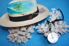 @BlackCoral4you Panama Hat ART Original and Black Coral Nature / Sombrero Panama ART Original y Coral Negro Natural http://blackcoral4you.wordpress.com/