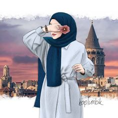 Safe WallpaperImage by Safe Wallpaperby Safe WallpaperImage by Safe Wallpaper Dostluk Çizmi Friends Drawing - Cartoon Hijab GIRLS drawing Image by Safe Wallpaper Çoooook şık, sade ve güzel ! Beautiful Girl Drawing, Cute Girl Drawing, Cartoon Girl Drawing, Girl Cartoon, Muslim Fashion, Hijab Fashion, Fashion Art, Hijabi Girl, Girl Hijab
