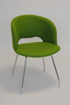 Fashion Tub Chair - Base No. 5 - Four Shaped Steel Legs.