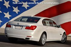 There's one car per person in the US