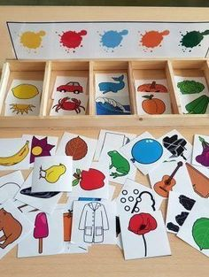 montessori kleinkinder selbstgemacht - Welcome to our website, We hope you are satisfied with the content we offer. Montessori Toddler, Preschool Learning Activities, Infant Activities, Teaching Kids, Montessori Color, Childcare Activities, Art For Kids, Crafts For Kids, Montessori Materials