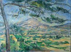 Paul Cézanne - Mont Sainte-Victoire, ca.1887, Courtauld Institute of Art