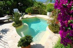 Vues de l 39 ext rieur on pinterest petite piscine - Petite piscine en kit ...