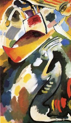 "Wassily Kandinsky - ""The Last Judgment"", 1910"
