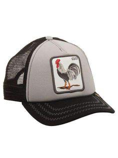 Goorin Bros Animal Farm Trucker Cap Chickin Traps 1ecc7d6e828