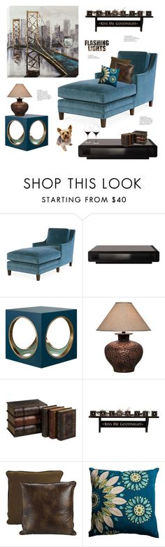 """Flashing Lights"" by maitepascual ❤ liked on Polyvore featuring interior, interiors, interior design, home, home decor, interior decorating, Joe Ruggiero Collection, The Lacquer Company, Universal Lighting and Decor and IMAX Corporation"