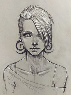 Random girl by sashajoe on DeviantArt