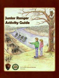 Fort Donelson National Battlefield, Dover, Tennessee  Junior Ranger Booklet