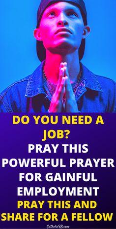 Lent Prayers, Easter Prayers, Bible Prayers, Catholic Prayers, Need A Job, Do You Need, Employment Prayer, Holy Week Prayer, Christmas Prayer