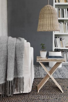 Office Design office industrial shop chair Cosy living room with neutral colours and natural textures. Home office Living Room Grey, Home Living Room, Living Room Designs, Living Spaces, Grey Room, Cozy Living, Room Inspiration, Interior Inspiration, Interior Ideas