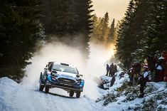 Teemu Suninen, Jarmo Lehtinen, M-Sport Ford WRT Ford Fiesta WRC. Photo by M-Sport on February 2020 at Rally Sweden. Browse through our high-res professional motorsports photography Rally Drivers, Rally Car, Ford Motorsport, Albert Park, Formula E, Indy Cars, Monte Carlo, Motogp, Birmingham