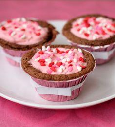 Flour-less Gluten-free Chocolate Cupcakes.
