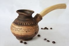Handmade Ceramic Coffee Pot