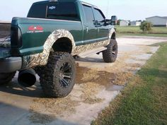 Camo truck- but-- I want it in white camo on a white Toyota truck 4 door:)