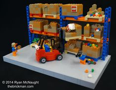 LEGO Warehouse   Things are always hectic down at the LEGO w…   Flickr
