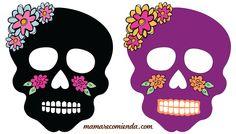 Decora tu altar de muertos con estas divertidas mascaras que te regala mamarecomienda en pdf