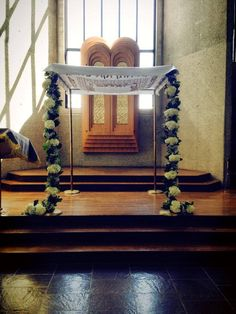 Chuppah we designed for the Jewish Chapel in West Point