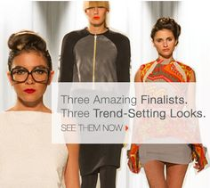 The Finale. Check back at the end of the Project Runway All Stars season to see the looks!