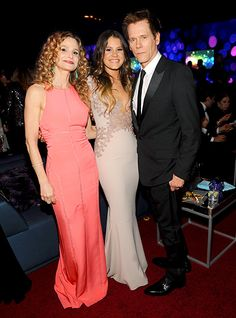 Kevin Bacon, wife Kyra Sedgwick and their daughter Sosie posed for a family snapshot at the InStyle after party. The famous couple's daughte. Kyra Sedgwick, Murder In The First, Kevin Bacon, Robin Wright, Famous Couples, Old Tv Shows, Golden Globes, Celebs, Actor