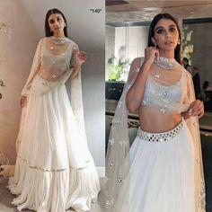 Lehenga Choli Designs, Bridal Lehenga Choli, Ghagra Choli, Cotton Lehenga, Lehenga Choli Online, Indian Gowns Dresses, Indian Fashion Dresses, Dress Indian Style, Indian Designer Outfits