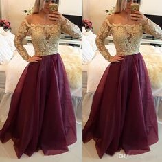 I found some amazing stuff, open it to learn more! Don't wait:http://m.dhgate.com/product/2017-long-sleeves-burgundy-prom-dresses-bateau/392040522.html