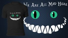 Tribute to Alice in Wonderland! Available for voting, on teebusters.com!