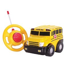Kids love remote-controlled cars, and Kid Galaxy's Go Go School Bus ($25) is the perfect first R/C for tiny...