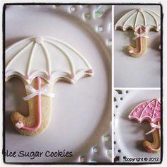 Umbrella cookies