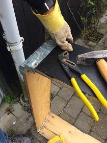 Sådan laver du et flot højbed af pallerammer. Det er let, enkelt og frem for alt billigt.