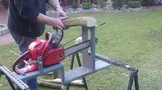 Kettensäge zu Tischkreissäge umbauen - YouTube