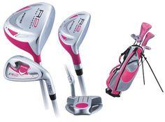 Junior Golf Clubs, Girls Golf, Cherry, Lighter, Sports, Outdoors, Design, Hs Sports, Sport