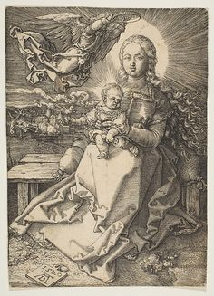 Albrecht Dürer | Virgin and Child Crowned by an Angel | The Met