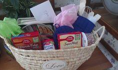 Wedding Shower Gift Basket
